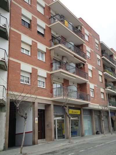 Façanes al C/. Jacint Verdaguer, nº 7 (Sant Feliu de Llobregat)